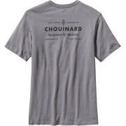 Men's Diamond C T Shirt Feather Grey - Camisa - curtas - $35.00  ~ 30.06€