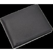 Men Premium and Rich Classic Black Genui - Billeteras - $29.99  ~ 25.76€