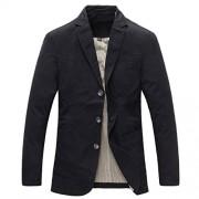 Men's 3 Button Sport Coat Casual Cotton Lightweight Suit Blazer - Košulje - kratke - $44.99  ~ 38.64€