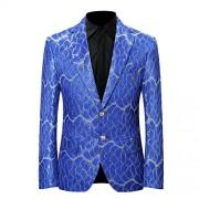Men's Sports Coat Dinner Jacket Slim Fit Party Suit Blazer - Košulje - kratke - $29.99  ~ 25.76€