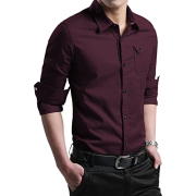 Men's dark red shirt (XTAPAN) - People -