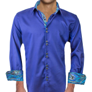 Men's shirt with French cuffs - People -