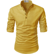 Men's yellow shirt - Shirts -