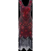 Metme 1920s Flapper Dress Great Gatsby - Dresses - $44.99
