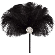Metme Feather Fan Peacock Bridal Bouquet - Other - $22.99