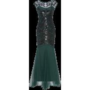 Metme Women's 1920s Sequin Vintage Dress - Dresses - $51.99