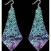 Metme Women's Vintage Style Crystal Simulated Pearl Chandelier Dangle Earrings - Earrings - $11.99