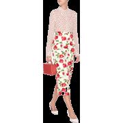 Michael Kors floral print silk shirt - Shirts -