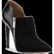 Michael Kors Samara Black Ankle Boot - Boots -