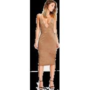 Midi,Fashion,Bodycorn Dress - Dresses -