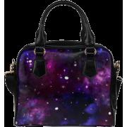 Midnight Blue Purple Galaxy Bag - Bag - $29.00