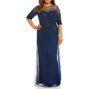 Midnight blue gown (Dillard's) - People -