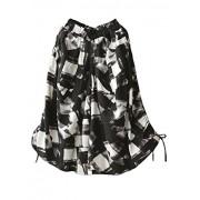 Minibee Women's Cotton Linen Retro Printed Wide Leg Culotte Pants - Pants - $29.99