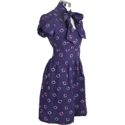 Nautical Pin-Up Dress - Dresses -