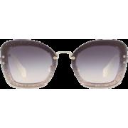 Miu Miu sunglasses - Темные очки -