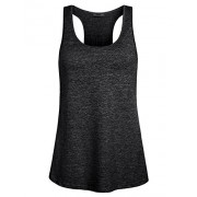 Miusey Womens Sleeveless Loose Fit Workout Yoga Racerback Tank Top - Shirts - $19.99