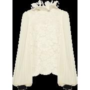 Moda Operandi Blouse Lace - Long sleeves shirts -