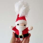 Mom hand-woven Santa Claus - My look - $19.99