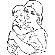 Mother And Child - People -