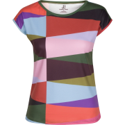 Multi Color Geometric Print T-Shirt - T-shirt - $46.00  ~ 39.51€