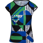 Multi Color Geometric Slim Fit T-shirt - T-shirt - $46.00  ~ 39.51€