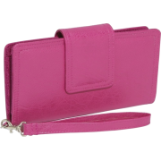 Mundi The Reflector Clutch Wallet Magenta - Wallets - $33.25