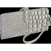 Mundi Yoko Clutch Wallet Silver - Wallets - $33.25