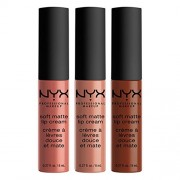 NYX PROFESSIONAL MAKEUP Soft Matte Lip Cream Set No. 13 - Kosmetyki - $12.00  ~ 10.31€