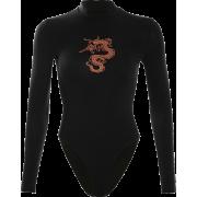 National Wind Dragon Totem Print Half-He - Overall - $19.99  ~ 17.17€