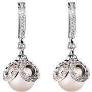 Earrings White - Earrings -