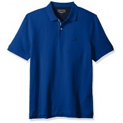 Nautica Men's Classic Short Sleeve Solid Performance Deck Polo Shirt - Shirts - $24.99