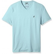 Nautica Men's Short Sleeve Solid V-Neck T-Shirt - Shirts - $20.90