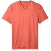 Nautica Men's Short Sleeve Solid V-Neck T-Shirt - T-shirts - $20.90