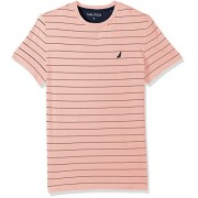 Nautica Men's Short Sleeve Striped Crew Neck T-Shirt - T-shirts - $23.75