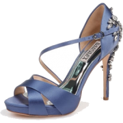 Navy Blue Heels - Classic shoes & Pumps -