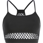 Netted fishnet vest - Shirts - $15.99