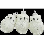 Northlight matte owl ornament - Predmeti -