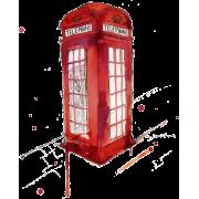 Phone booth - Ilustrationen -