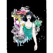 Woman - Ilustrationen -