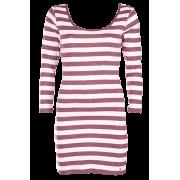 ONLY peach stripe plain dress - Haljine - 139,00kn  ~ 18.79€