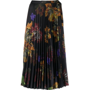Off-White floral print pleated midi skir - Röcke -