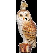 Old World Christmas owl ornament - Predmeti -