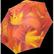 Orange Daylilies Foldable Umbrella - Accessories - $19.88