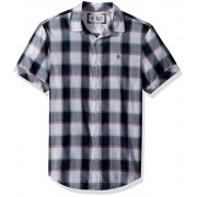 Original Penguin Men's Short Sleeve Plaid on Lawn - Shirts - $79.00