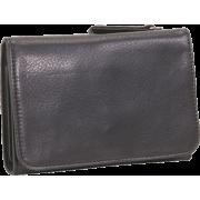 Osgoode Marley Cashmere Snap Wallet Black - Wallets - $64.95