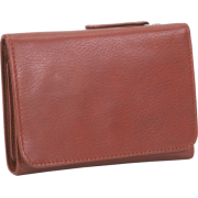 Osgoode Marley Cashmere Snap Wallet Brandy - Wallets - $64.95