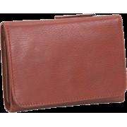 Osgoode Marley Cashmere Snap Wallet Brandy - Wallets - $64.95