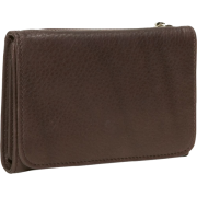 Osgoode Marley Cashmere Snap Wallet Raisin - Wallets - $66.99
