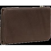 Osgoode Marley Cashmere Snap Wallet Raisin - Wallets - $66.99