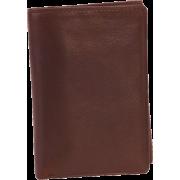 Osgoode Marley Cashmere Tri-Fold Brandy - Wallets - $46.99
